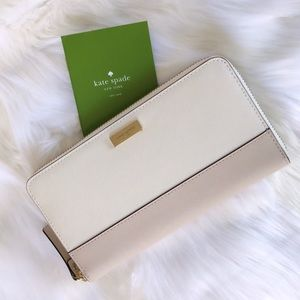 💃 Kate Spade Neda Laurel Way Wallet